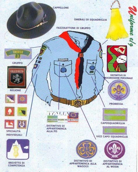 Risultati immagini per la divisa esploratori e guide